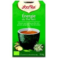 thé énergie du thé vert