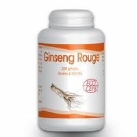 Ginseng Rouge Bio - 300 mg -200 gelules