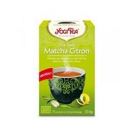thé vert matcha citron