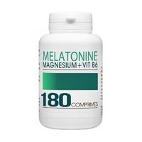 Melatonine 1mg + Vitamine B6 + Magnesium - 180 Comprimes