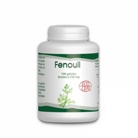 Fenouil Bio 100 Gelules gph