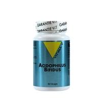 Acidophilus+bifidus 10 fois plus dosé (500 millions). 30 gélules végétales