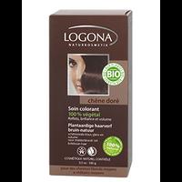 Logona - Soin colorant végétal chêne doré, 100 g