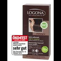 Logona - Soin colorant végétal châtaigne, 100 g