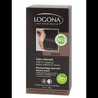 Logona - Soin colorant végétal ébène, 100 g