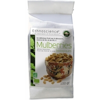 Ecoidees - Mulberries, mûres blanches BIO - sachet 100 g