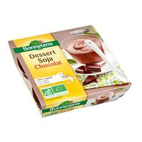 Dessert soja chocolat BIO 4 X 110 G Desserts végétaux