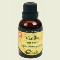 extrait vanille sur sucre