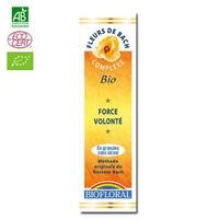 Biofloral - Force, volonté granules BIO - 10 g - Elixirs Floraux du Docteur Bach