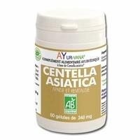 Ayur-vana - Centella Asiatica Bio - flacon 60 gélules végétales