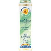 Biofloral - Châtaignier granules (Sweet Chestnut n°30) BIO - 10 g - Elixirs Floraux du Docteur Bach