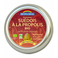 Biofloral - Gommmes Suédois à la propolis aux 59 plantes BIO - 45 g