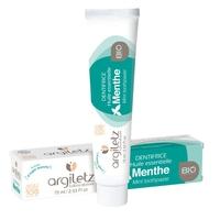 Dentifrice à l'argile blanche et à  la Menthe bio 75ml