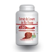 Levure de Riz Rouge 1,6% - 180 gelules 600 mg