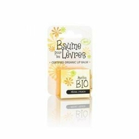 Marilou Bio - Baume pour les lèvres Pêche BIO - pot 5 ml