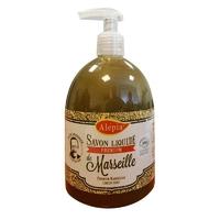 savon de marseille liquide bio, huile d'olive, 23% bio 500ml