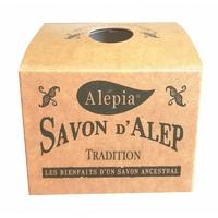 savon d'alep 1% tradition boîte kraft SYRIE  190g