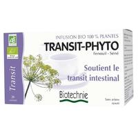 Biotechnie - Transit phyto infusion bio - 20 sachets