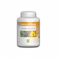 Bourrache Onagre - 100 capsules Vitamine e 500 mg