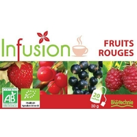 Infusion Circulation FRUITS ROUGES Bio 20 sachets Biotechnie