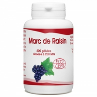 Marc de Raisin bio 250 mg - 200 gelules