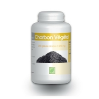 Charbon vegetal - 210 mg - 200 gelules