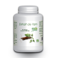 Extrait de Yam 80 gelules 16 % de diosgenine