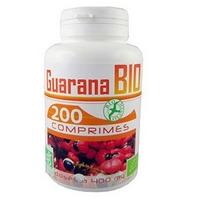 Guarana bio 200 comprimes