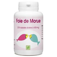 Huile de Foie de Morue - 400 mg - 200 capsules