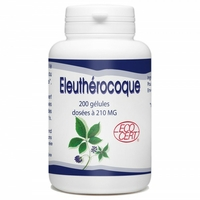 Eleuthérocoque Bio - 210 mg - 200 gélules