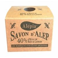 savon d'alep 40% laurier boîte kraft SYRIE 190g