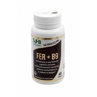 FER + B9 250 mg  60 gélules