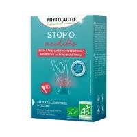 Stop'O acidités 10 STICKS ACIDITES