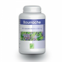 Bourrache - 200 capsules Vitamine e 500 mg