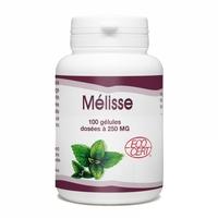 Melisse Bio 100 Gelules