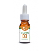 VITAMINE D3 C+ avec curcuma (Curcumine) 20ml 450 jours de cure