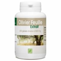 Olivier (extrait 7%) 500 mg 200 gelules