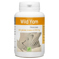 Wild Yam - 300 mg - 200 gélules