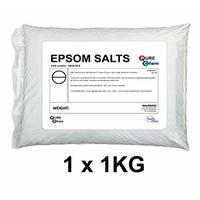 Sel D'Epsom Sulfate de Magnésium Sels de Bain - 1Kg