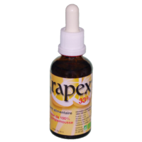 Extrait de pépins de pamplemousse BIO 33%, Grapex Forte - 50ml flacon verre