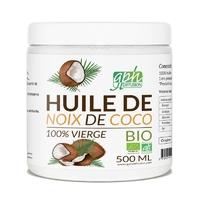Huile Noix de Coco Extra Vierge Bio 500 ML GPH