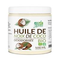 Huile Noix de Coco Désodorisée Bio 500 ML GPH