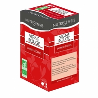 Infusion Vigne Rouge Bio, jambes légeres - 20 sachets
