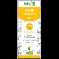Gemmobase (Herbalgem) - Sirop pour la respiration Bio - 250 ml