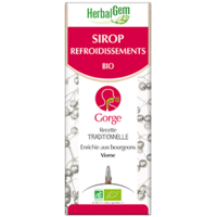 Gemmobase (Herbalgem) - Sirop Refroidissement Bio - 250 ml