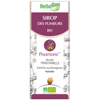 Gemmobase (Herbalgem) - Sirop des fumeurs Bio - 250 ml