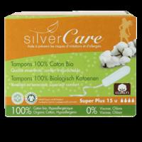 15 Tampons sans applicateur - Super plus 100% coton bio