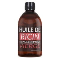 Huile de Ricin 1 litre Huile Végétale Vierge 1 ère pression à froid.