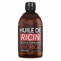 Huile de Ricin 500 ml Huile Végétale Vierge 1 ère pression à froid.