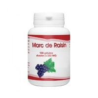 Marc de raisin 200 mg 100 gélules